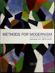 Methods for Modernism: American Art, 1876-1925 by Bowdoin College. Museum of Art, Diana K. Tuite, and Linda J. Docherty