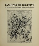Language of the Print: A Selection from the Donald H. Karshan Collection