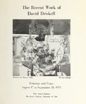 Recent Work of David Driskell: Paintings and Prints