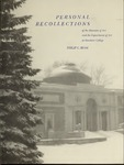 Personal Recollections of the Museum of Art and the Department of Art at Bowdoin College by Bowdoin College. Museum of Art and Philip C. Beam