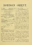 Bowdoin Orient v.29, no.1-30 (1899-1900)