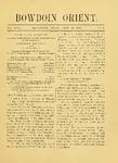 Bowdoin Orient v.30, no.1-30 (1900-1901)