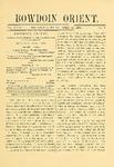 Bowdoin Orient v.31, no.1-30 (1901-1902)