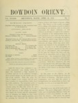 Bowdoin Orient v.33, no.1-30 (1903-1904) by The Bowdoin Orient