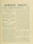 Bowdoin Orient v.33, no.1-30 (1903-1904)