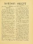 Bowdoin Orient v.36, no.1-30 (1906-1907)