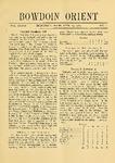 Bowdoin Orient v.37, no.1-30 (1907-1908)