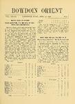 Bowdoin Orient v.38, no.1-30 (1908-1909)
