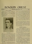 Bowdoin Orient v.44, no.1-33 (1914-1915) by The Bowdoin Orient