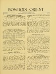 Bowdoin Orient v.46, no.1-33 (1916-1917) by The Bowdoin Orient