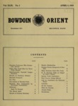Bowdoin Orient v.49, no.1-28 (1919-1920) by The Bowdoin Orient