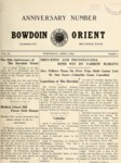 Bowdoin Orient v.50, no.1-32 (1920-1921) by The Bowdoin Orient