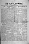 Bowdoin Orient v.54, no.1-30 (1924-1925)
