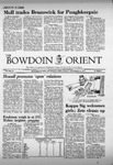 Bowdoin Orient v.105, no.1-24 (1975-1976) by The Bowdoin Orient