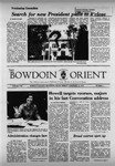 Bowdoin Orient v.107, no.1-23 (1977-1978) by The Bowdoin Orient
