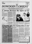 Bowdoin Orient v.120, no.13-25 (1991-1991) by The Bowdoin Orient