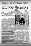 Bowdoin Orient v.125, no.1-25 (1994-1995) by The Bowdoin Orient