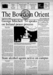 Bowdoin Orient v.130, no.1-22 (1998-1999) by The Bowdoin Orient