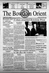 Bowdoin Orient v.132, no.1-24 (2000-2001) by The Bowdoin Orient