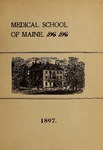 Bowdoin College - Medical School of Maine Catalogue  (1897)