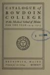 Bowdoin College Catalogue (1914-1915)