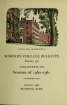 Bowdoin College Catalogue (1960-1961)