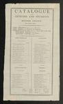 Bowdoin College Catalogue (1810)