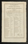 Bowdoin College Catalogue (1812)