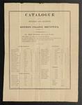 Bowdoin College Catalogue (1813) by Bowdoin College