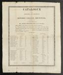 Bowdoin College Catalogue (1815)