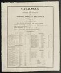Bowdoin College Catalogue (1816)