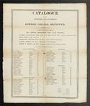 Bowdoin College Catalogue (1817) by Bowdoin College