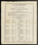 Bowdoin College Catalogue (1818) by Bowdoin College