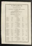 Bowdoin College Catalogue (1820)