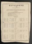 Bowdoin College Catalogue (1821)